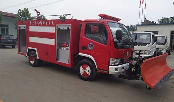 推铲式消防车